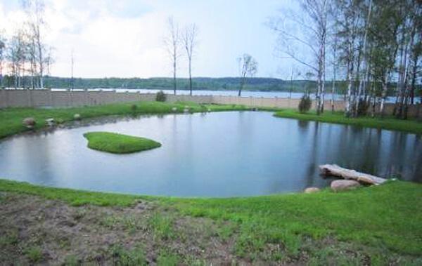 Домашний пруд для рыбалки